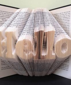 Word Book Folding Patterns