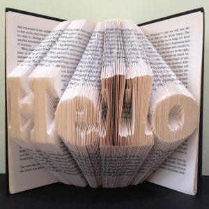 Word Book Folding Patterns